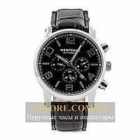 Часы Montblanc Black Silver (06336)