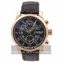 Часы Montblanc Flyback Gold Black (06337)
