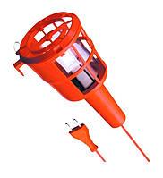 Рабочая лампа 60Вт/220В оранжевый пластик 000614 Lena lighting