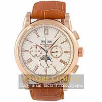 Часы Patek Philippe Grand Complications Perpetual Calendar Gold Brown (06357)