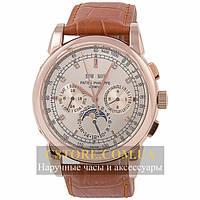 Часы Patek Philippe Grand Complications Perpetual Calendar White Gold (06358)