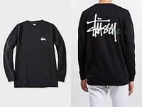 """Свитшот   черный    мужской  Stussy ( Стасси ) Basic Logo Кофта """""""" В стиле Stussy """""""""""