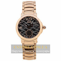 Часы Ulysse Nardin Dual Time Ladies gold black (06379)