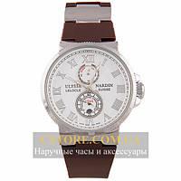 Часы Ulysse Nardin Marine Chronometer Brown White (06382)