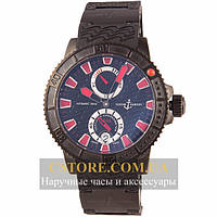 Часы Ulysse Nardin Maxi Marine Diver Black Sea 200m (06389)