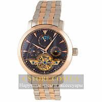 Механические Часы Vacheron Constantin Silver Black Steel (06395)