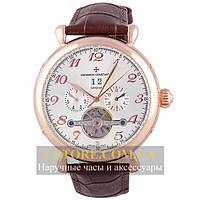 Мужские наручные часы Vacheron Constantin brown white (06397)