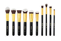 Набор кистей для макияжа Sculpt and Blend 3 - 10 Piece Brush Set BH Cosmetics Оригинал