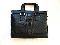 Кожаный мужской портфель брендовый, недорого, фото 1