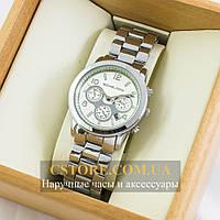 Часы Michael Kors silver white (06454)