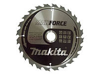 Пильный диск для дерева makforce 235x30 24z Makita