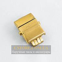 Застежка Ulysse Nardin gold ААА 20мм (06467)