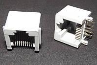Розетка 10P10C 5521 (KLS12-304-10P10C-W-G-01)