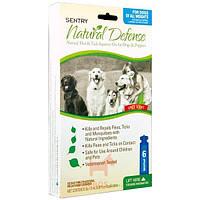 Natural Defense Натуральная защита - капли от блох и клещей для собак и щенков, 1,5 мл (Сентри) Sentry