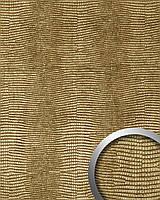 WallFace 13478 LEGUAN дизайнерская самоклеящаяся настенная панель из синтетической кожи эффект 3D золотая | 2,60 кв.м