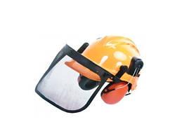 Шлем с металической сеткой+наушники Nac NAC