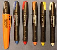 Маркер восковой оранжевый Pica visor