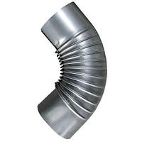 Колено трубы вентиляции 120