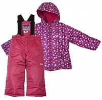 Комплект зимний , куртка и комбинезон Gusti 4900 SWG цвет темно-сиреневый