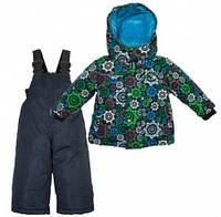 Комплект зимний , куртка и комбинезон Gusti 4867 ZWB, цвет серый/синий