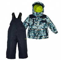 Комплект зимний , куртка и комбинезон Gusti 4906 ZWB, цвет серый/синий