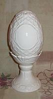 Яйцо керамическое белое глухое