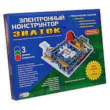 Конструктор «Знаток» (REW-K007) электронный, для школы и дома, более 999 схем