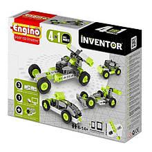 Конструктор «Engino» (0431) Inventor Автомобили, 4 в 1
