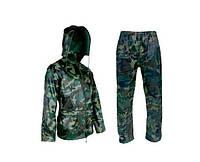 Комплект: водонепроницаемаякуртка + штаны камуфляж, размер  xxxl 3066