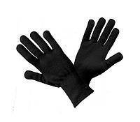 Перчатки утепленные акриловые черные размер 10 art. 120 boa