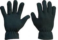 Перчатки ватные черных раз. 8