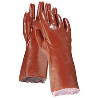 Перчатки длинные пвх 35см