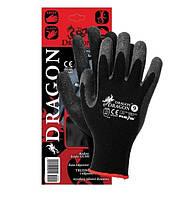 Рабочие перчатки dragon размер 9 черный (упакованы по отдельности)
