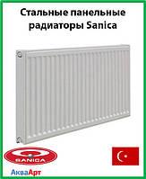 Стальной радиатор Sanica 11k 500*500 б.п.