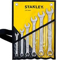 Ключи плоско-кольцевые, комплект 6 элем. 10, 12, 14, 17, 19, 21 мм Stanley