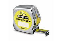 Рулетка 10mx25мм powerlock Stanley