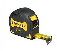 Рулетка 8м х 28мм grip Stanley