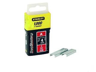 "Скобы 4 мм 5/32"" 5000 штук Stanley"