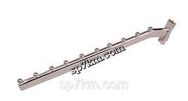 Кронштейн (флейта) в рейку с шариками  и с наклоном. 40см