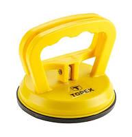Topex присоска для стекол одинарная 40 кг TOPEX