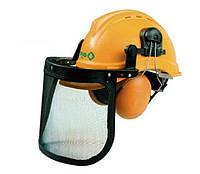 Защитная каска + наушники для лесоруба , kosiarza