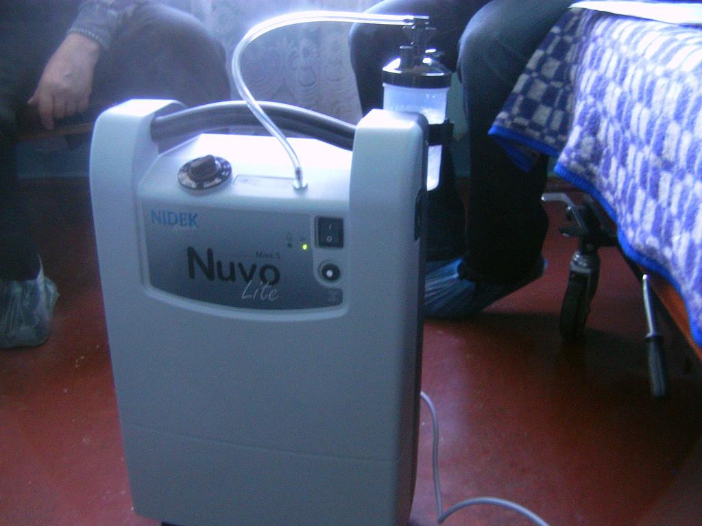 Поставка кислородного концентратора «Марк 5 НУВО Лайт»
