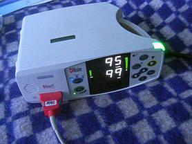 Сатурация у Пациентки при работающем кислородном концентраторе