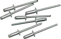 Заклепки алюминиевые 4,0 х 9,6 мм 50шт. Vorel