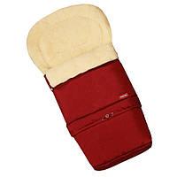 Детские конверты на овчине для новорожденных Womar №20(бордо)