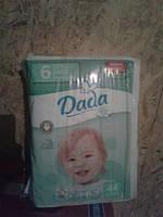 Подгузники Dada 6 42 штуки (13-27кг)