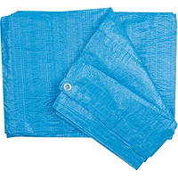 Тент синий 90г 5* 8м