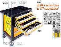 Vorel шкаф для инструмента 6-szulfad + 177шт.