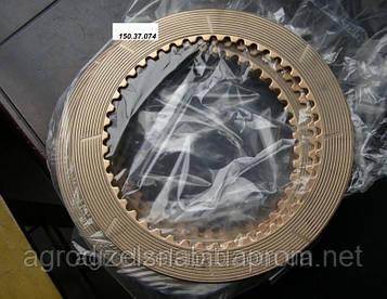 Диск гідромуфти металокерамічний Т-150 150.37.074