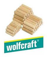 Шипы деревянные (бук) 40шт. 8x40 мм Wolfcraft